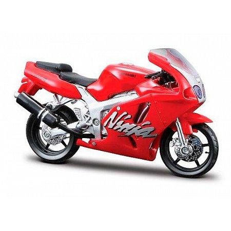 Модель мотоцикла Kawasaki Ninja ZX-7R (красный), 1:18, Bburago, 18-51030-14