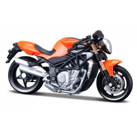 Модель мотоцикла MV Agusta Brutale S (оранжевый), 1:18, Bburago, 18-51030-7