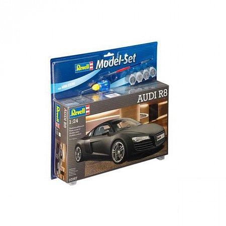 Model Set Автомобиль AUDI R8,1:24,10+ Revell, 67057
