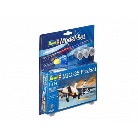 Model Set Истребитель-перехватчик MiG-25 Foxbat,1:144,10+ Revell, 63969