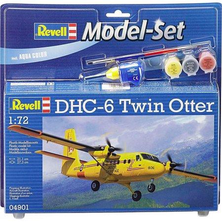 Model Set Самолет DHC-6 Twin Otter, 1:72, Revell, 64901