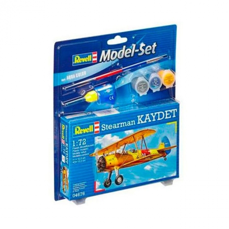 Model Set Самолет Stearman Kaydet,1:72, Revell, 64676