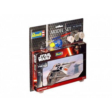 Model Set-Звездные войны.Космический корабль Snowspeeder,1:52,10+ Revell, 63604