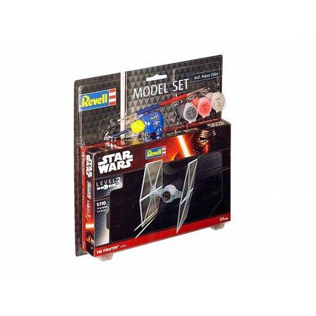 Model Set-Звездные войны.Звездный истребитель TIE,1:110,10+Revell, 63605