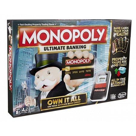 Монополия с банковскими карточками обновленная 2016 г, Hasbro B6677