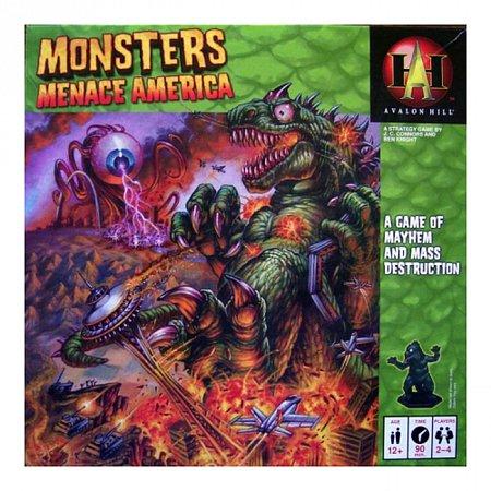 Monsters menace America - Настольная игра