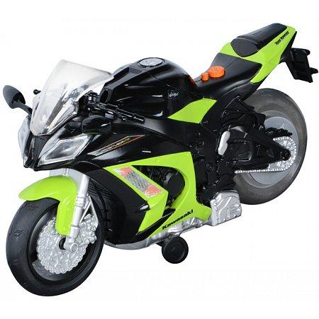Мотоцикл Kawasaki Ninja ZX-10R со светом и звуком 25 см, Toy State, 33411