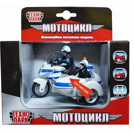 Мотоцикл (свет, звук), Автомодель, Технопарк, CT1247/2