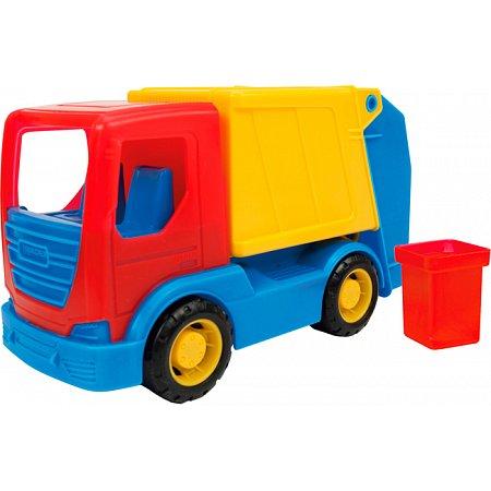 Мусоровоз серии Tech Truck, Wader, 35310-1