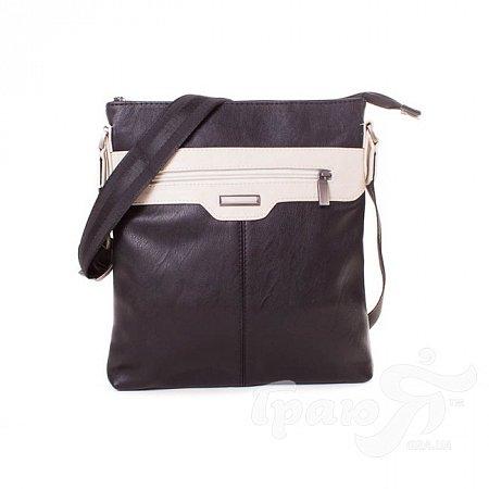 Мужская сумка через плечо из качественного кожезаменителя МІС MISS34134-1