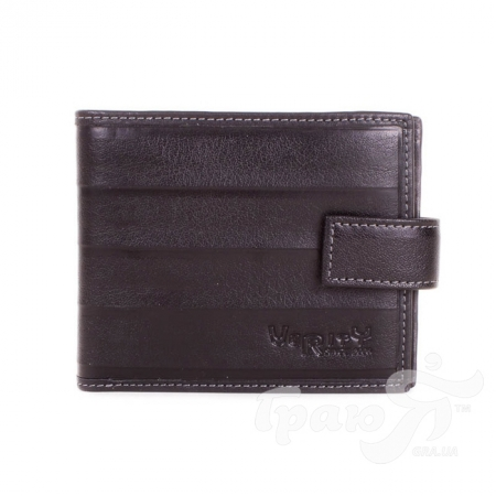 Мужской кожаный кошелек VERITY (ВЕРИТИ) MISS17372-black