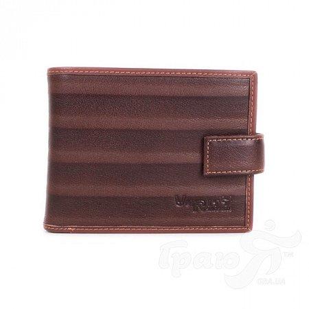 Мужской кожаный кошелек VERITY (ВЕРИТИ) MISS17374-brown