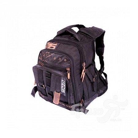Мужской рюкзак GRIZZLY (ГРИЗЛИ) GPM1137-black
