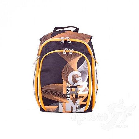 Мужской рюкзак GRIZZLY (ГРИЗЛИ) GRU321-1-2