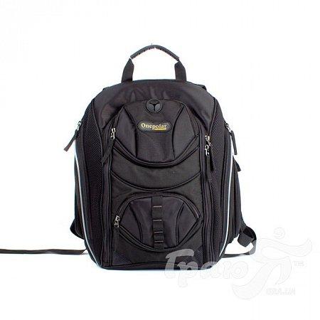 Мужской рюкзак ONEPOLAR (ВАНПОЛАР) W1284-black