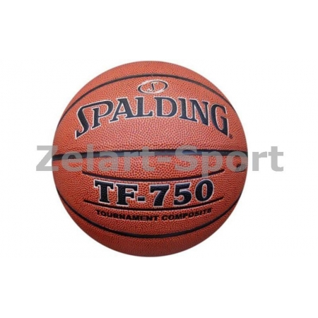Мяч баскетбольный Composite Leather №6 SPALDING 74528Z TF-750 TOURNAMENT Indoor/Outdoor (коричнев.)