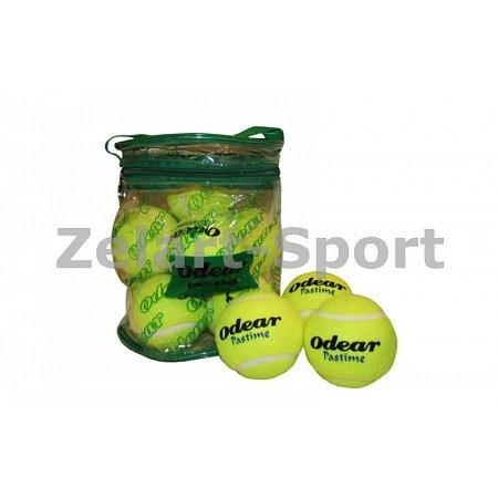 Мяч для большого тенниса (12шт) ODEAR 901-12 (PVC сумка)
