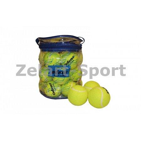 Мяч для большого тенниса (24шт) ODEAR 901-24 (PVC сумка)