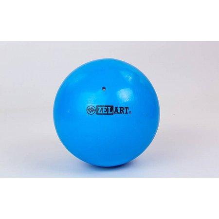 Мяч для пилатеса и йоги Pilates ball Mini ZEL GB-5219-B (PVC, d-20см, 400гр, синий)