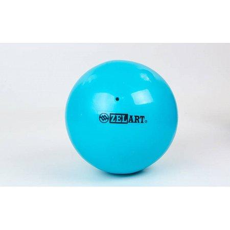 Мяч для пилатеса и йоги Pilates ball Mini ZEL GB-5219-BL (PVC, d-20см, 400гр, голубой)
