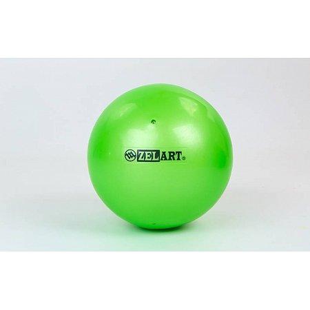Мяч для пилатеса и йоги Pilates ball Mini ZEL GB-5219-LG (PVC, d-20см, 400гр, салатовый)