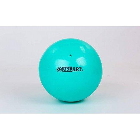 Мяч для пилатеса и йоги Pilates ball Mini ZEL GB-5219-M (PVC, d-20см, 400гр, мятный)