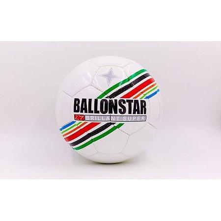 Мяч футбольный №4 PU ламин. BALLONSTAR FB-5419 (5 сл., сшит вручную)