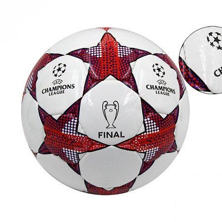 Мяч футбольный №4 PU ламин. CHAMPIONS LEAGUE FB-4656 (№4, 5 сл., сшит вручную)