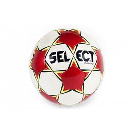 Мяч футбольный №4 SELECT CAMPO-4 (Campo NEW) (белый-красный)