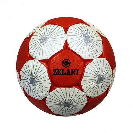 Мяч футбольный №5 Гриппи 4сл. ZEL FB-3800-11 (№5, 4 сл., сшит вручную)