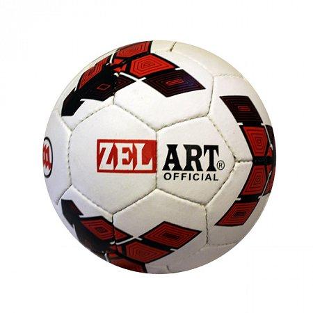 Мяч футбольный №5 Гриппи 4сл. ZEL FB-3800-12 (№5, 4 сл., сшит вручную)