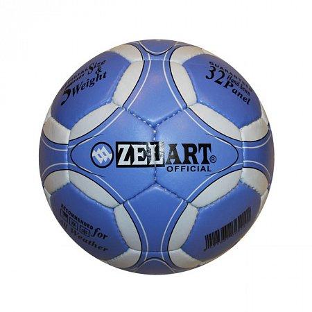 Мяч футбольный №5 Гриппи 4сл. ZEL FB-3800-17 (№5, 4 сл., сшит вручную)
