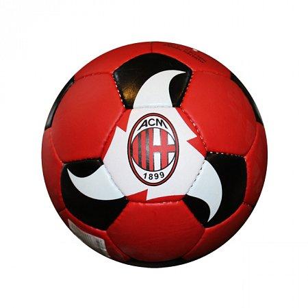 Мяч футбольный №5 Гриппи 5сл. AC MILAN FB-0047-3680 (№5, 5 сл., сшит вручную)