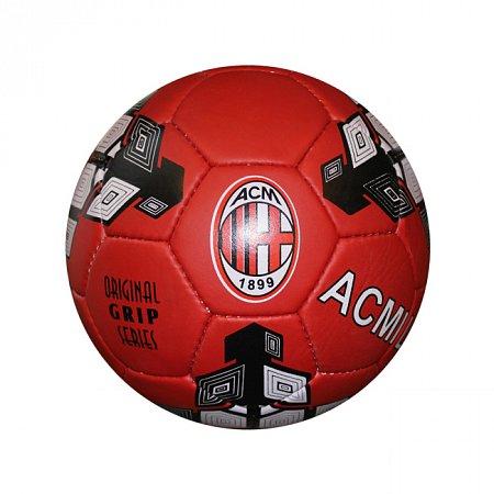 Мяч футбольный №5 Гриппи 5сл. AC MILAN FB-0047-3697 (№5, 5 сл., сшит вручную)