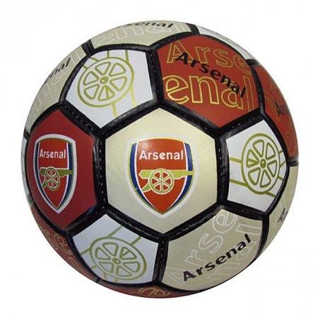 Мяч футбольный №5 Гриппи 5сл. ARSENAL FB-0047-108 (№5, 5 сл., сшит вручную)
