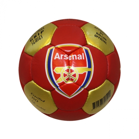 Мяч футбольный №5 Гриппи 5сл. ARSENAL FB-0047-3656 (№5, 5 сл., сшит вручную)