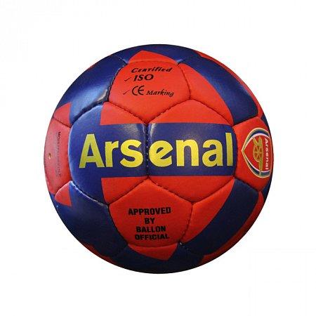 Мяч футбольный №5 Гриппи 5сл. ARSENAL FB-0047-3673 (№5, 5 сл., сшит вручную)