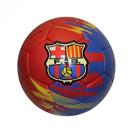 Мяч футбольный №5 Гриппи 5сл. BARCELONA FB-0047-3568 (№5, 5 сл., сшит вручную)