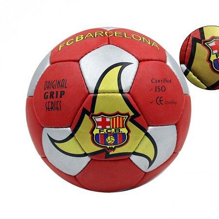 Мяч футбольный №5 Гриппи 5сл. BARCELONA FB-0047B-456 (№5, 5 сл., сшит вручную)