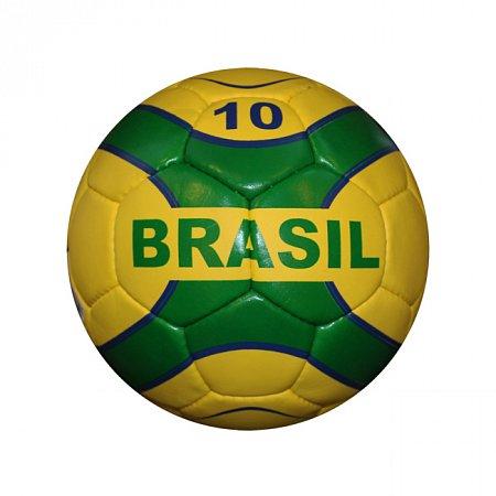 Мяч футбольный №5 Гриппи 5сл. BRASIL FB-0047-3662 (№5, 5 сл., сшит вручную)
