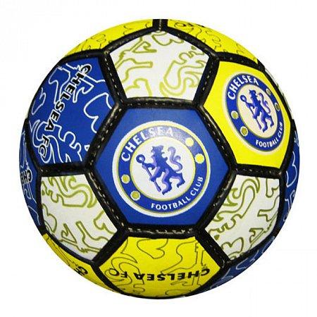 Мяч футбольный №5 Гриппи 5сл. CHELSEA FB-0047-109 (№5, 5 сл., сшит вручную)