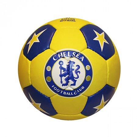 Мяч футбольный №5 Гриппи 5сл. CHELSEA FB-0047-3572 (№5, 5 сл., сшит вручную)