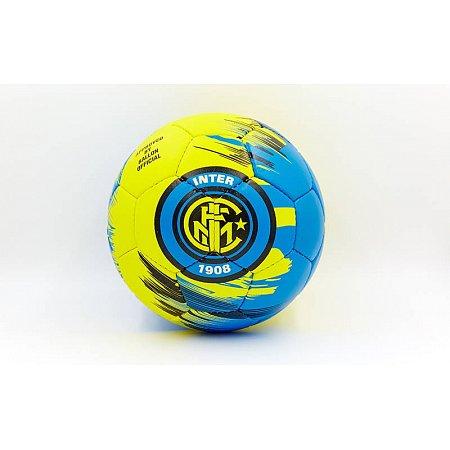 Мяч футбольный №5 Гриппи 5сл. INTER MILAN FB-0047-3575 (№4, 5 сл., сшит вручную)