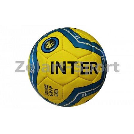 Мяч футбольный №5 Гриппи 5сл. INTER MILAN FB-0047-3669 (№5, 5 сл., сшит вручную)