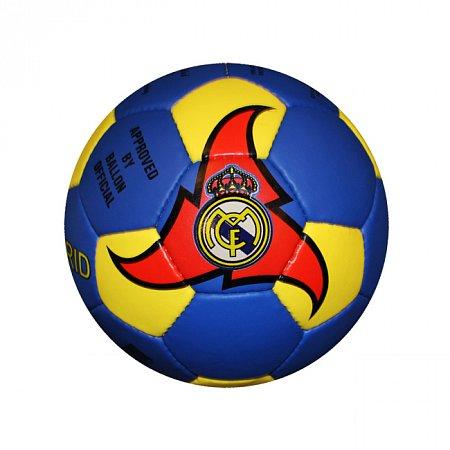 Мяч футбольный №5 Гриппи 5сл. REAL MADRID FB-0047-3654 (№5, 5 сл., сшит вручную)
