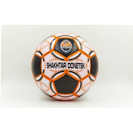 Мяч футбольный №5 Гриппи 5сл. ШАХТЕР-ДОНЕЦК FB-0047-159 (№5, 5 сл., сшит вручную)