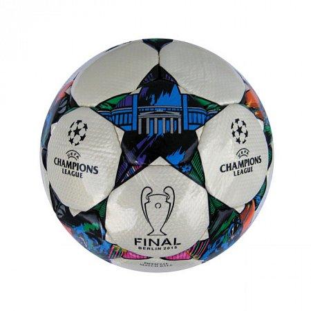 Мяч футбольный №5 PU ламин. CHAMPIONS LEAGUE C-727 (№5, 5 сл., сшит вручную)