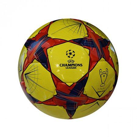 Мяч футбольный №5 PU ламин. CHAMPIONS LEAGUE FB-3764 (№5, 5 сл., сшит вручную)