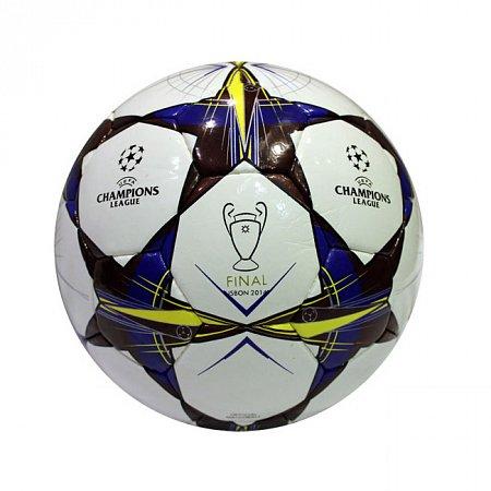 Мяч футбольный №5 PU ламин. CHAMPIONS LEAGUE HX-08 (№5, 5 сл., сшит вручную)