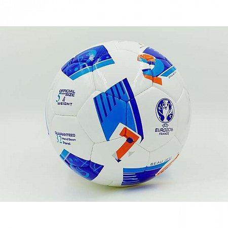 Мяч футбольный №5 PU ламин. EURO-2016 FB-5215 (№5, 5 сл., сшит вручную)
